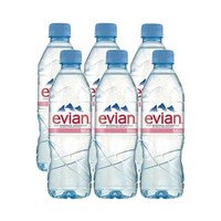 Evian Mineral Water 50CL X6