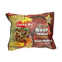 Lucky Me Instant Noodle Soup Spicy Beef Mami 60g