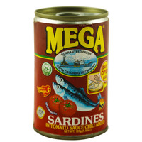 Mega Sardines In Tomato Sauce Chili Added 155g