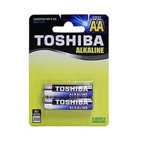 Toshiba Blue Battery TYPE AA Alkaline X2