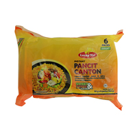 Lucky Me Instant Pancit Canton Sweet & Spicy (Chowmein) 60g x 6 Packs