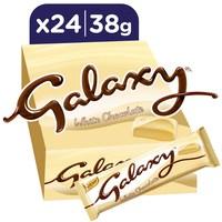 جالكسي شوكولاتة بيضاء 38 جرام 24 حبة