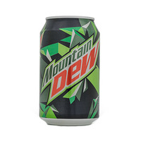 Mountain Dew Soft Drink Can 330ML