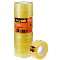 Sctch Utlty Tape Crystal 3/4X36Yd 8