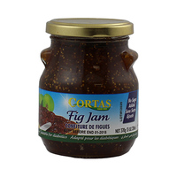 Cortas Jam Fig No Sugar Added 380GR