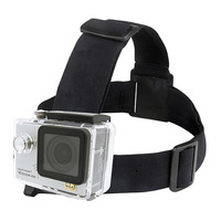 GoXtreme Head Strap Mount for Action Cameras