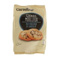 Carrefour Cookies Moelleux With Chocolate Chunks 210g