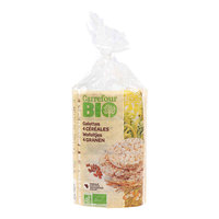 Carrefour Bio 4 Cereals Crackers 100 g