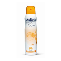 Malizia Fresh Care Dry Invisible Deodorant Spray 150ML