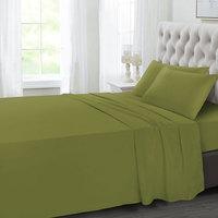 Tendance's Flat Sheet Double Vende Green 205X240