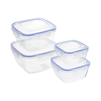 Dunya Squared Food Saver 30143 4 Pieces