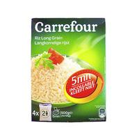 Carrefour Riz Cuisson Rapide 5 Min 125GR X 4