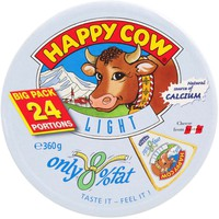 Happy Cow Light Processed Cheese 24 Portions 360g