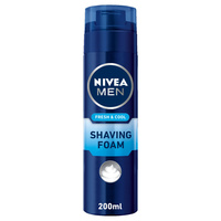 Nivea Men Shaving Foam Fresh & Cool 200ml