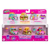 Shopkins Cutie Cars 3 Pack Series 3 Tasty Takeout