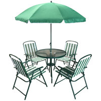 Economic Patio Set 6Pcs  (Delivered In 7 Business Days)