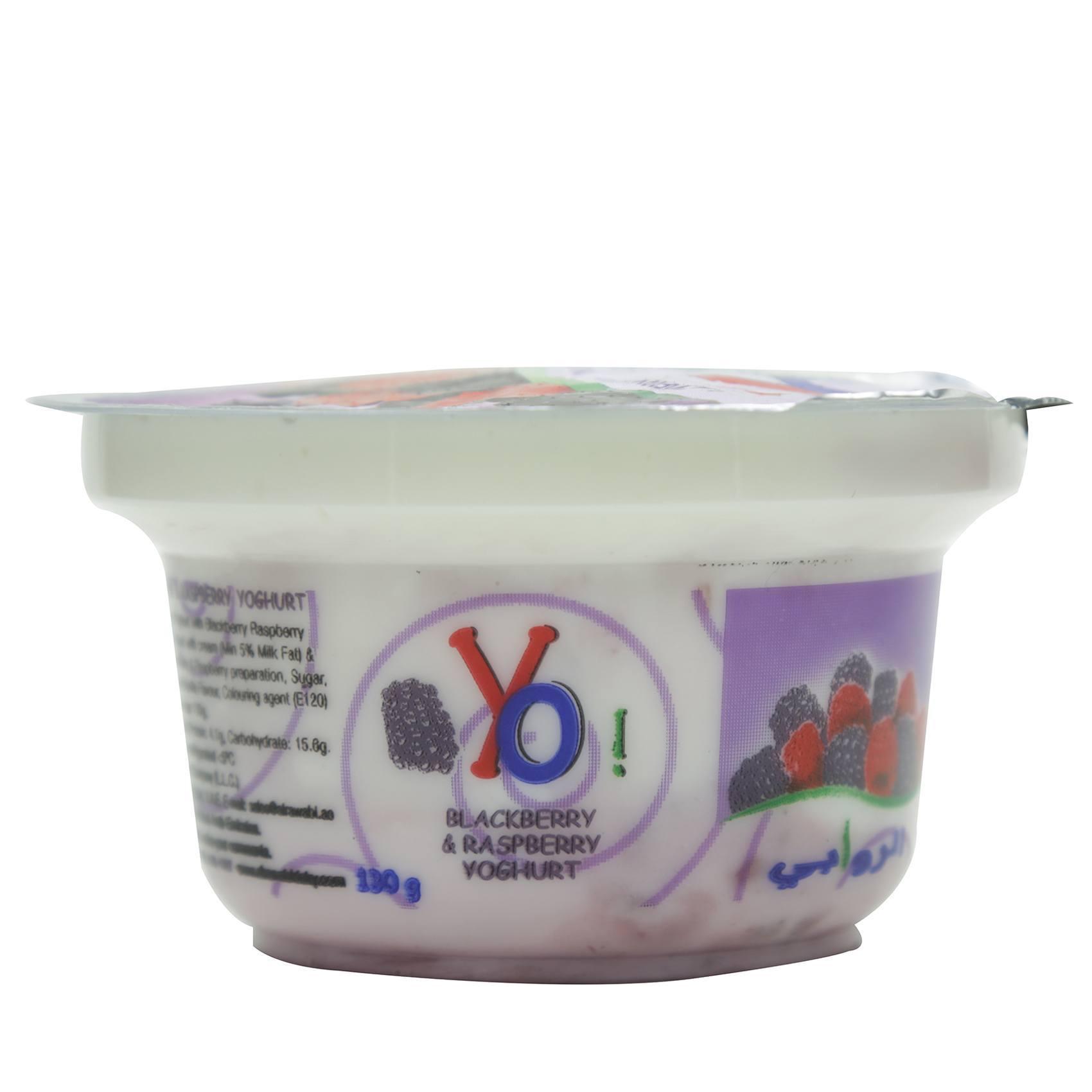 AL RAWABI YO RED FRUITS YOG 130G