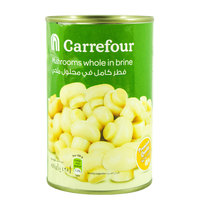 Carrefour Mushrooms Whole in Brine 425g