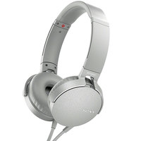 Sony Headphone MDR-XB550AP Extra Bass White