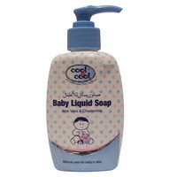 Cool & Cool Aloe Vera & Chamomile Baby Liquid Soap 250ml