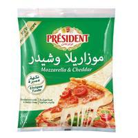 President Mozzarella & Cheddar 200g