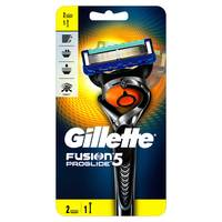 Gillette Fusion ProGlide Manual Razor and Razor Blade Refills, 2 count