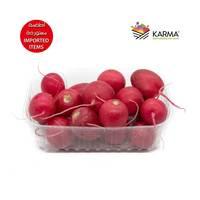 Karma fresh red radish imported from Lebanon 600 g