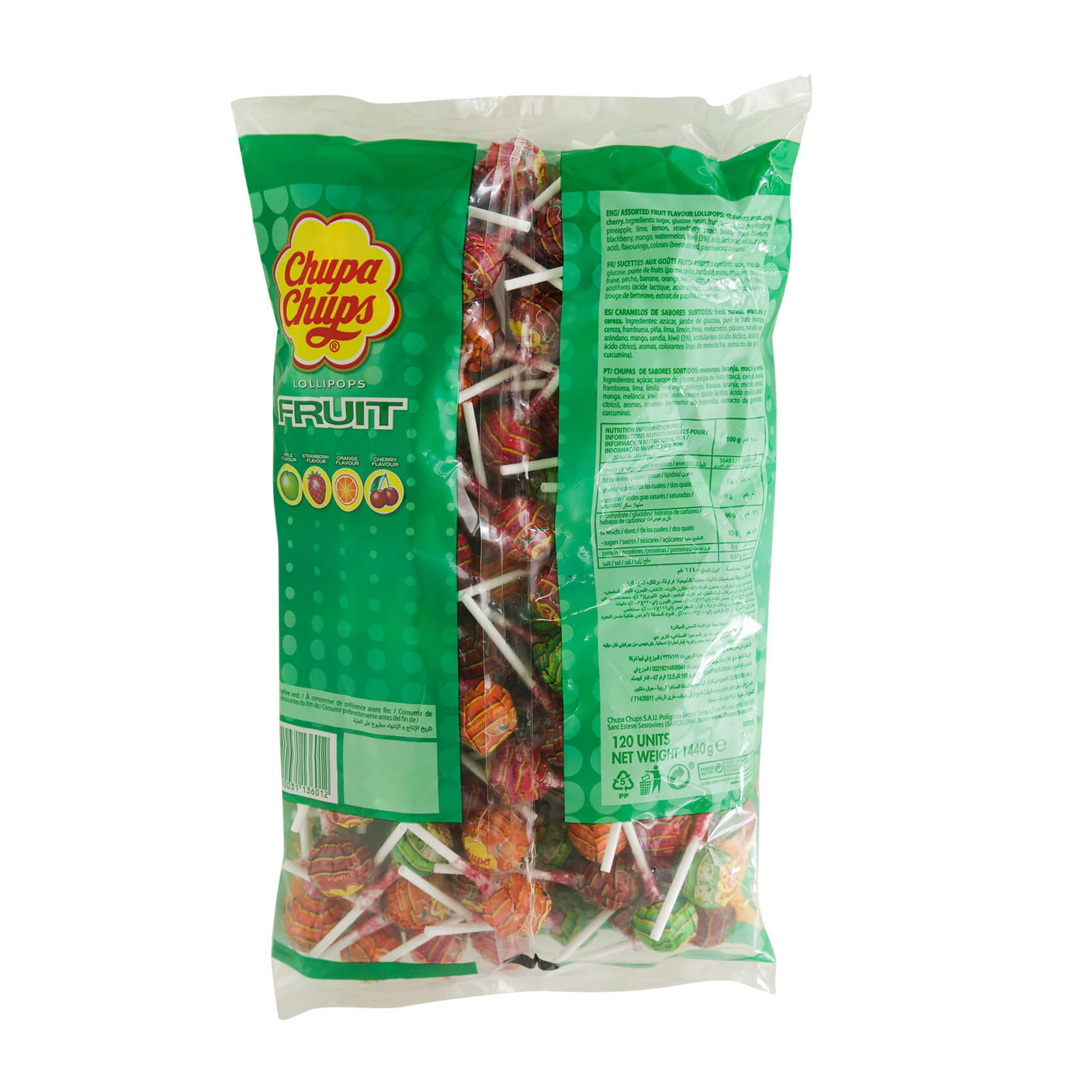 CHUPA CHUPS FRUIT BAG 13GRX120