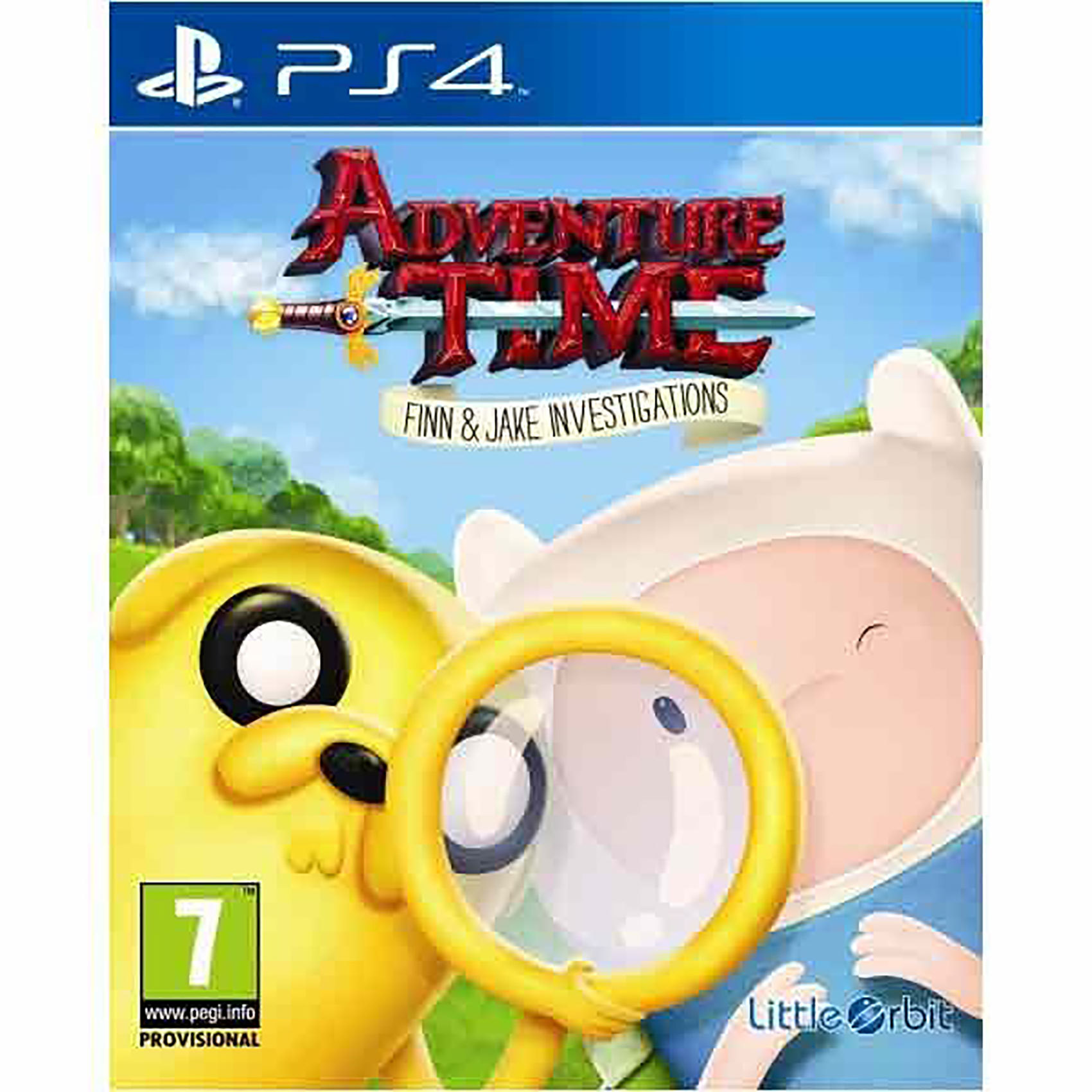 SONY PS4 ADVENTURE TIME: FJI