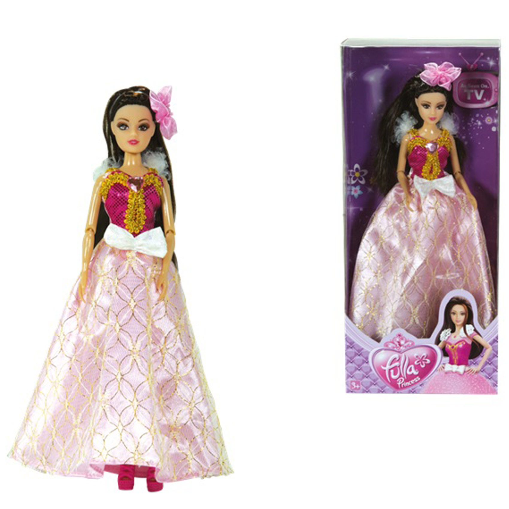 FULLA PRINCESS DOLL EVENING GOWN S1