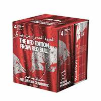 Red Bull The Red Edition Energy Drink 250mlx4