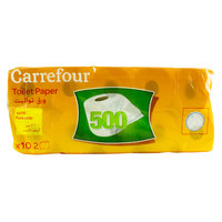 Carrefour Family Toilet Paper 500's x10