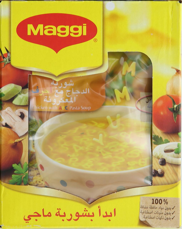 MAGGI CHICKEN&PASTA SOUP 66GX12