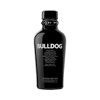 Bulldog Dry Gin 40%V Alcohol 70CL + Tonic Water Free X 2