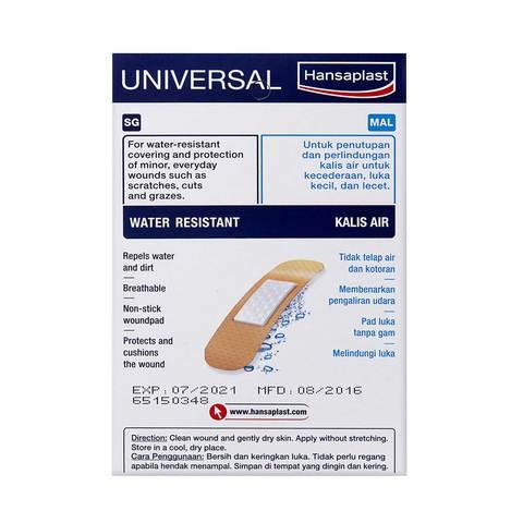 Hansaplast-Universal-Water-Resistant-100-Strips
