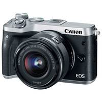 Canon SLR EOS M6  EF-M15-45 IS Black