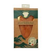 Gourmet Organic Smoked Salmon Fillet 100g