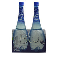 Oasis Blu Sparkling Water 1L x2