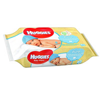 Huggies Pure Baby Wipes 56's