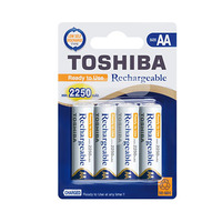 Toshiba Rechargeable AA 4 Batteries