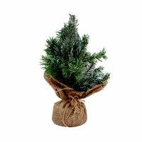 Christmas Tree white Brushed 30 Cm