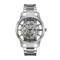 Kenneth Cole Men's Watch Automatic Analog Silver Dial Silver Stainless Steel Band 44mm Silver Case