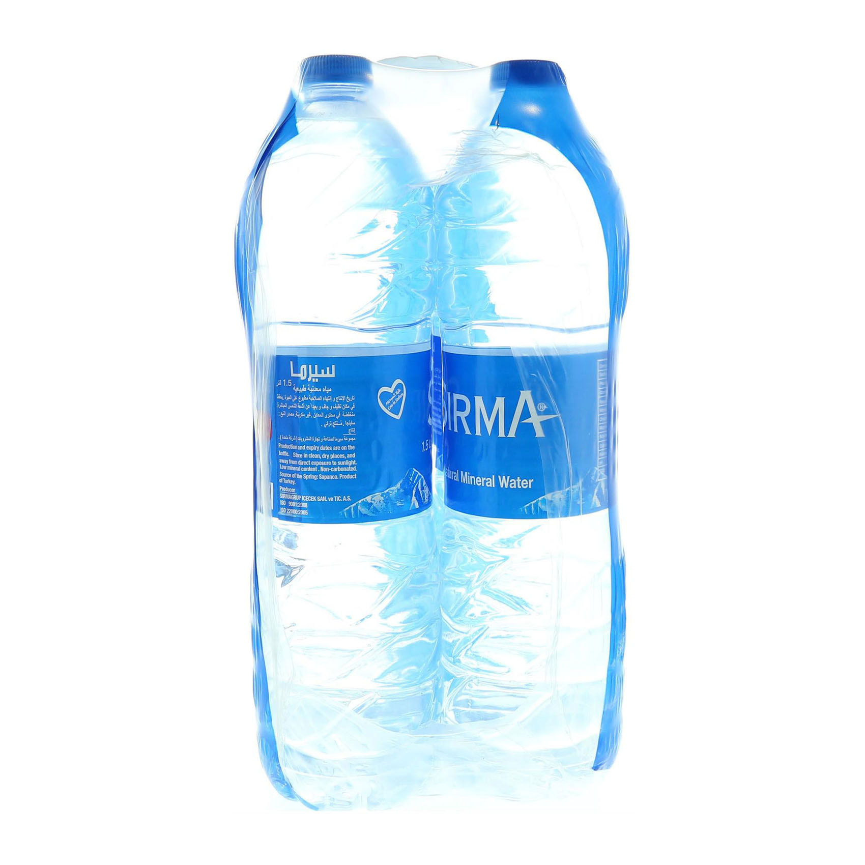 SIRMA SPRING WATER 1.5LTRX6