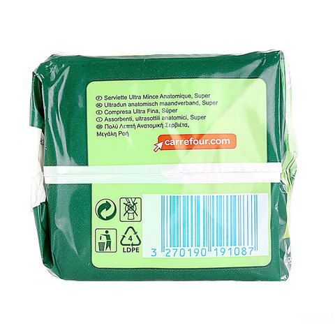 Carrefour-Pads-Ultra-Super-Thin-x14