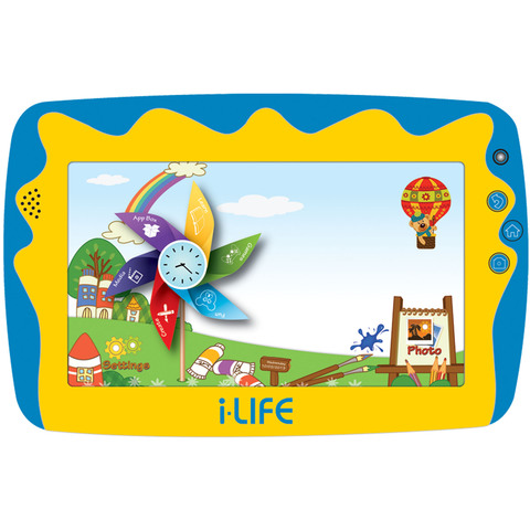"iLife-Tablet-Kids-Tab-5-Quad-Core-1.2Ghz,512MB-RAM,8GB-Memory,7""-Blue"