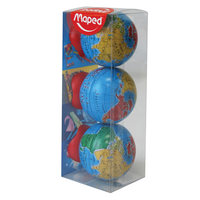 Maped Globe Sharpener 3Pcs