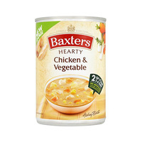 Baxters Hearty Chicken & Vegetables Soup 400GR