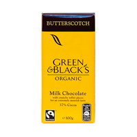 Green & Black''s Organic Milk Chocolate Bar 100GR