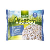 Gullon Vitalday Rice Cake Sugar Free 28.8GR
