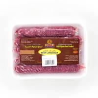 ساس سجق لحم بقري بدون جلد 400 جرام